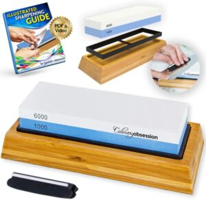 culinary obsession knife sharpening stone