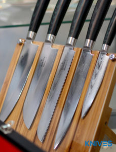common kitchen knives