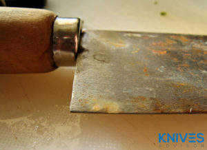 Avoid or Remedy Rust Formation on Carbon Steel Kitchen Knives