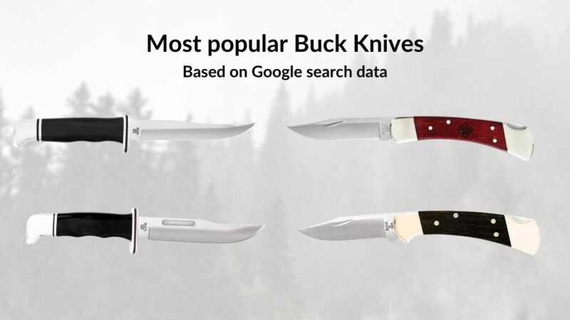 most popular buck knives article